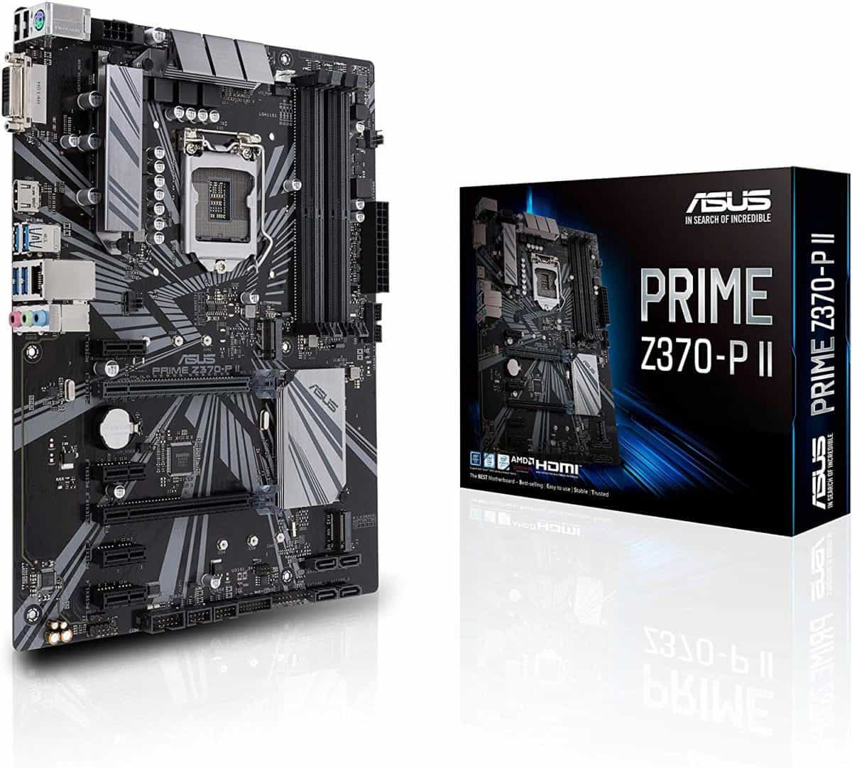 Asus Prime Z370-P II LGA1151 (Intel 9th Gen)