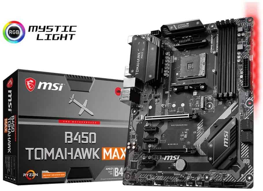 MSI Arsenal Gaming B450 Tomahawk Max