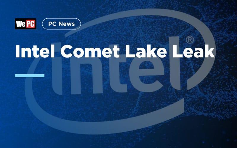 Intel Comet Lake Leak 1