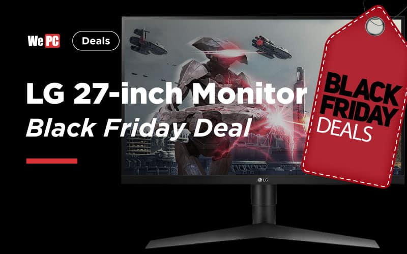 LG 27 inch monitor Black Friday Deal