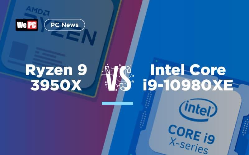Ryzen 9 3950X Vs Intel Core i9 10980XE