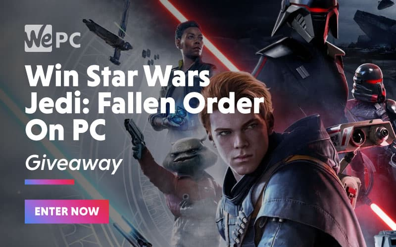 Win Star Wars Jedi Fallen Order On PC Giveaway
