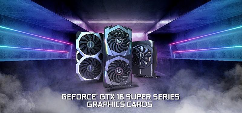msi gtx 16 super series