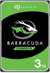 Seagate BarraCuda 3TB Internal Hard Drive HDD
