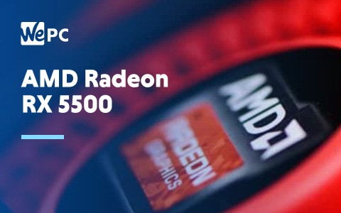 AMD Radeon RX 5500 1