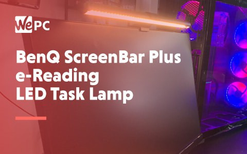 BenQ ScreenBar Plus E reading LED Task Lamp