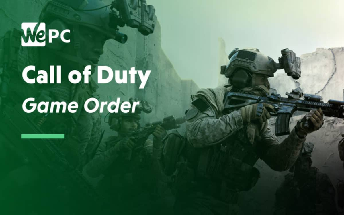 Call Of Duty Game List In Order Wepc