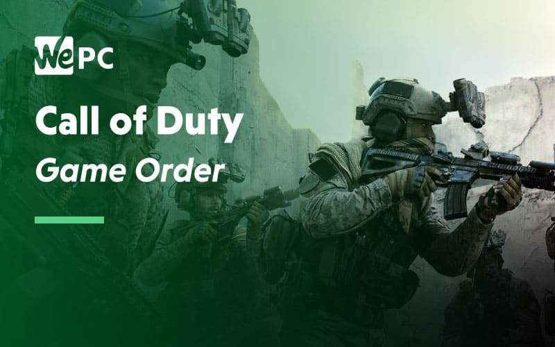 COD Game Order