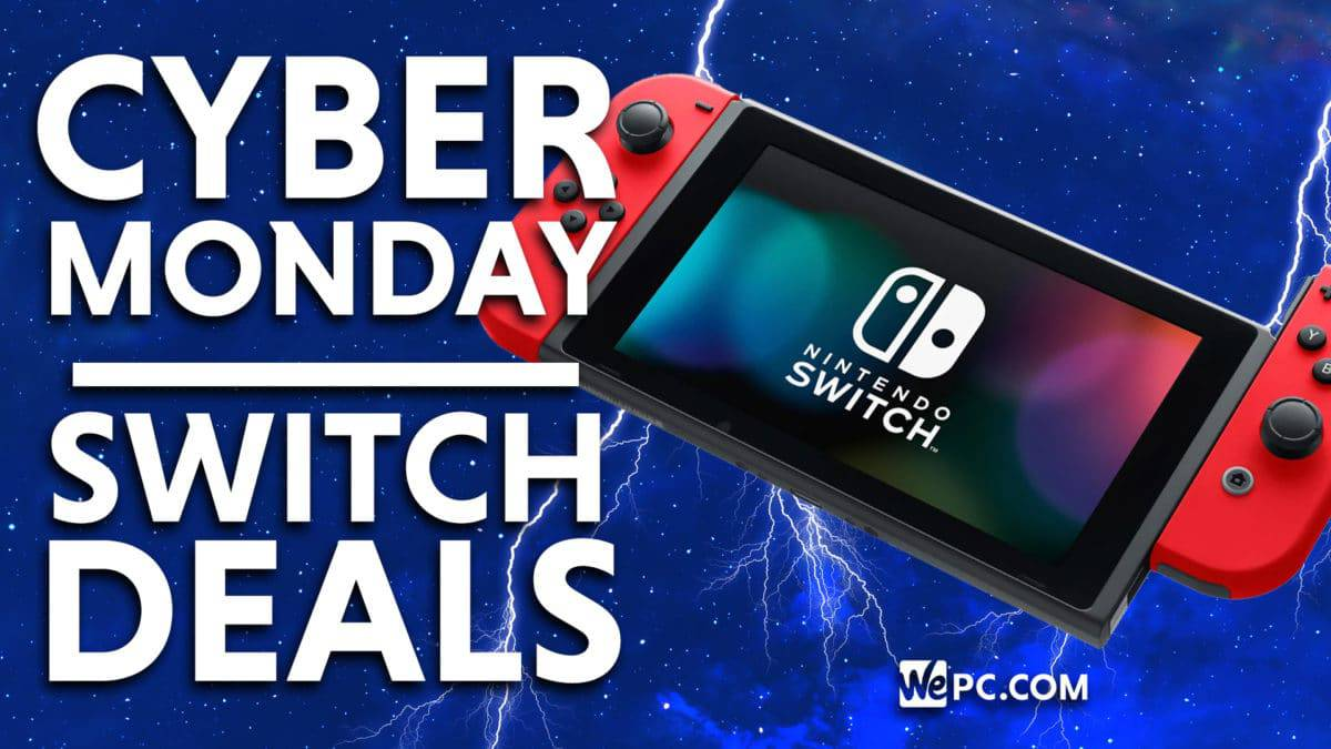 Nintendo Switch Cyber Monday Deals 2020 Wepc