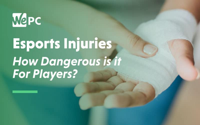 Esports Injuries How dangerous is it for players
