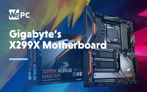 Gigabytes X299X Motherboard 1