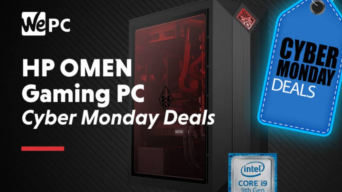 Massive Cyber Monday Savings On Hp S Omen Gaming Desktop Pc