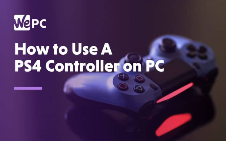 How to use A PS4 controller on PC
