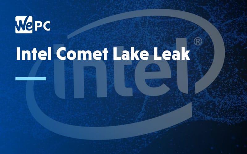 Intel Comet Lake Leak