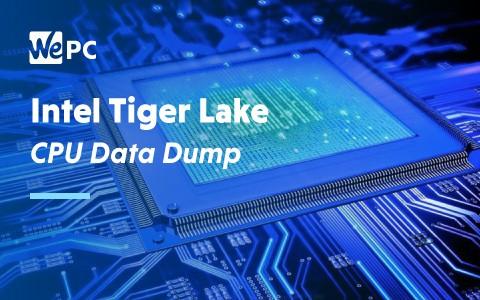 Intel Tiger Lake CPU Data Dump 1