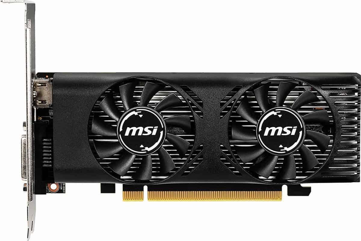 MSI GeForce GTX 1650 4GT LP OC Graphics Card