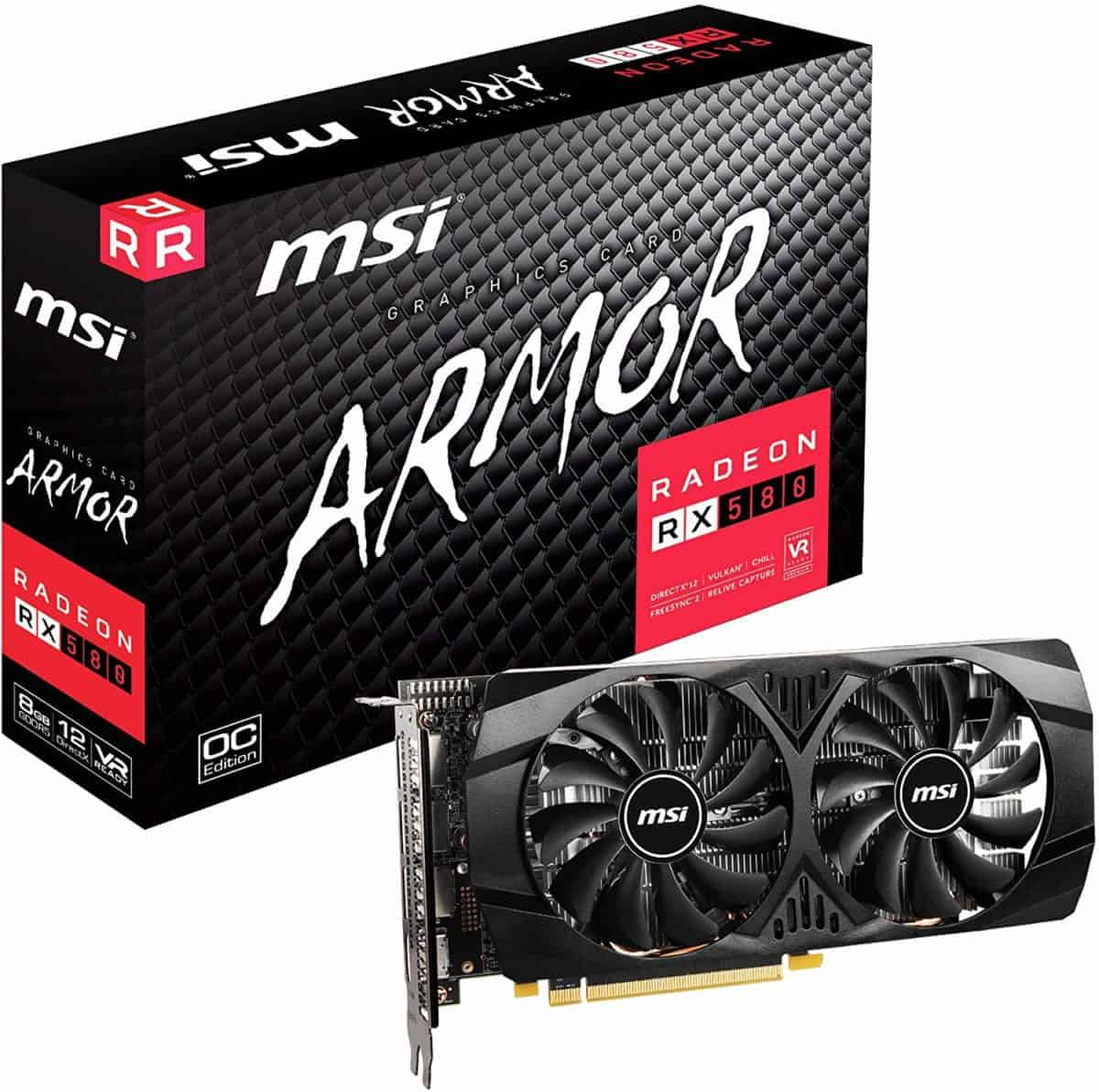 MSI Gaming RADEON RX 580 8GB