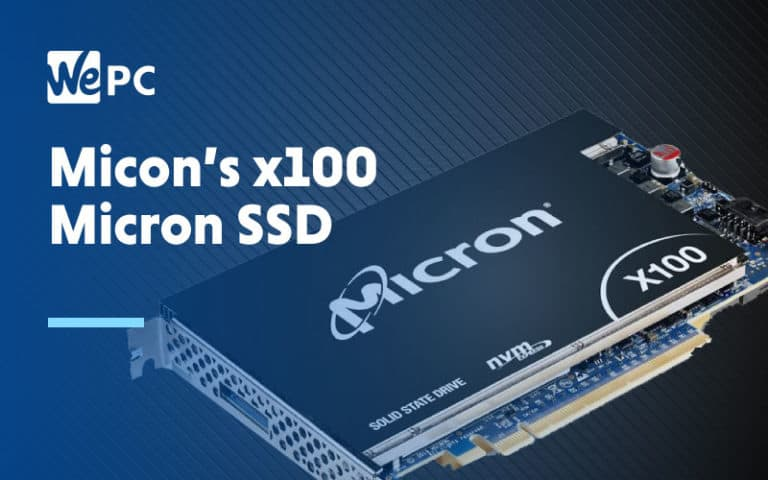 Micons X100 Micron SSD