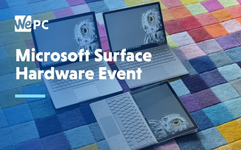 Microsoft Surface Hardware Event 1