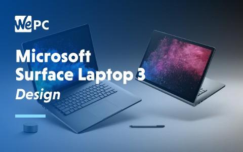 Microsoft Surface Laptop 3 Design 1