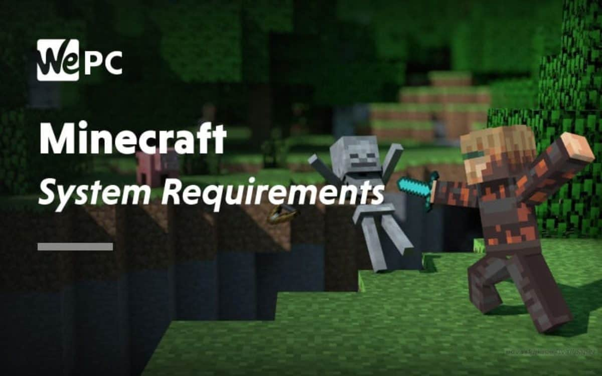 Minecraft System Requirements 9 & 9  WePC