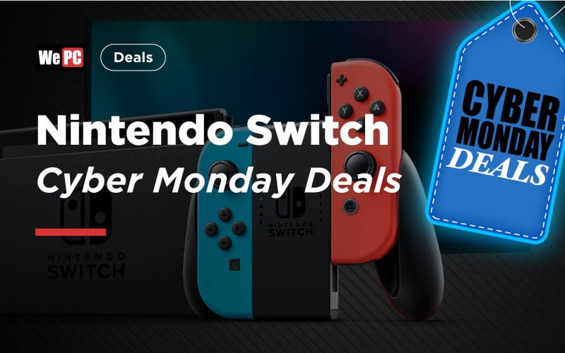 Nintendo Switch Cyber Monday Deals