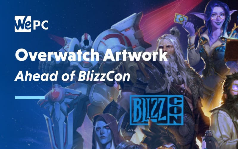 Overwatch Artwork Ahead of BlizzCon