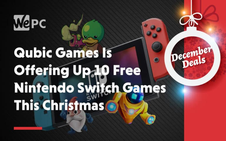 Qubic Games Is Offering Up 10 Free Nintendo Switch games This Christmas