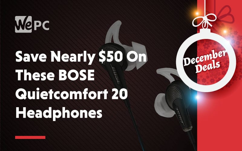Save Nearly 50 Dollars on These BOSE Quietcomfort 20 Headphones