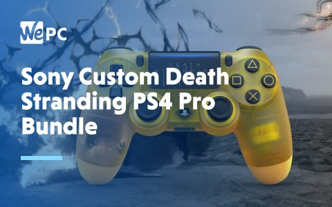Sony Custom DEath STranding pS4 Pro Bundle 1