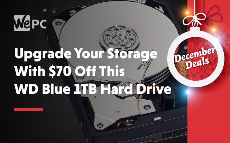 Upgrade Your Storage With 70 Off This WD Blue 1TB Hard Drive