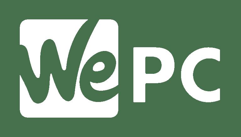 WePC Logo White