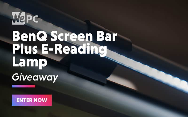 large BenQ Screen bar Plus E Reading Lamp Giveaway