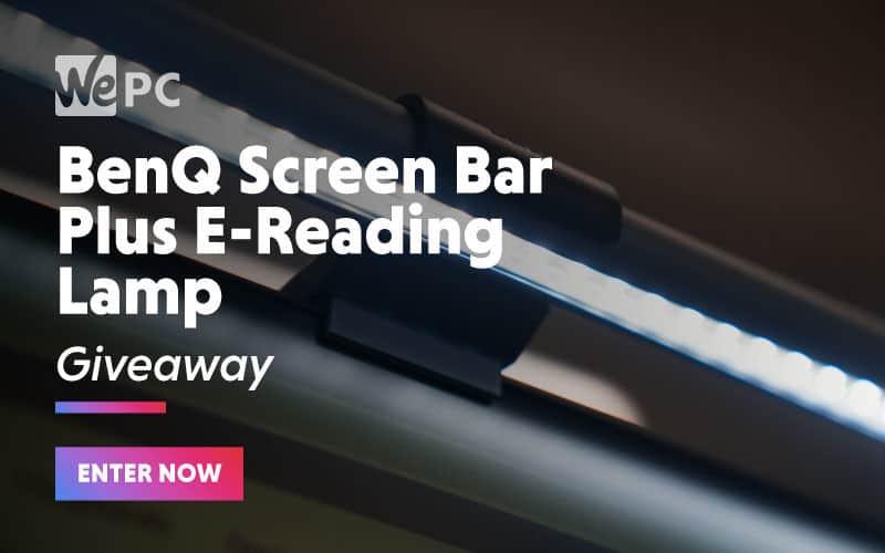 large BenQ Screen bar Plus E Reading Lamp Giveaway