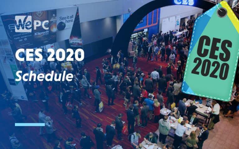 large CES 2020 Schedule