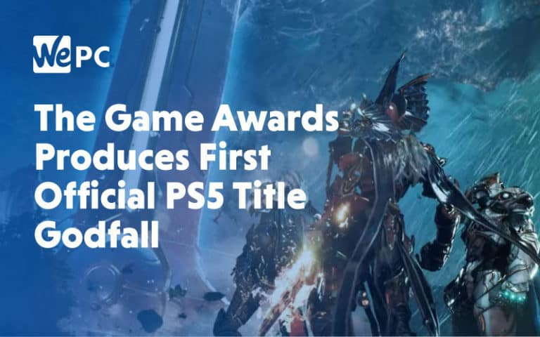 large The Game awards Produces First Official PS5 Title Godfall