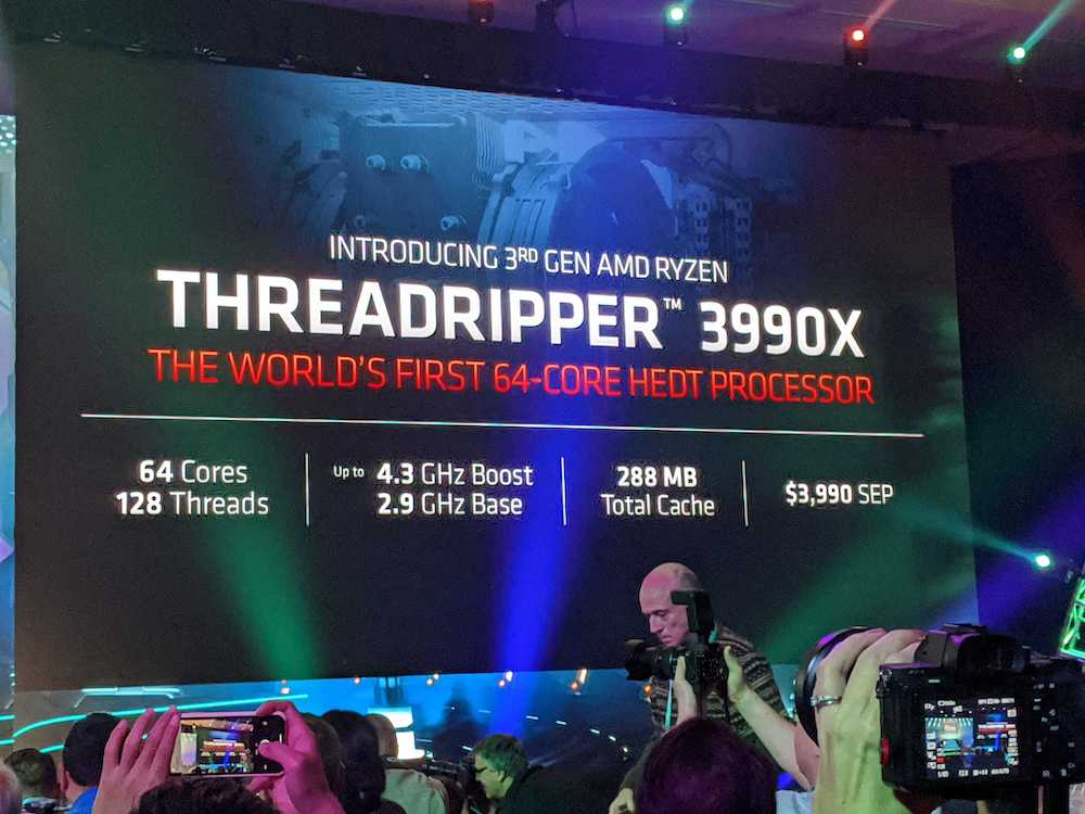 ADM Threadripper 3990X 64C 128T. 1