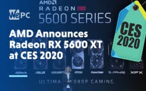 AMD Announces Radeon RX 5600 XT GPU