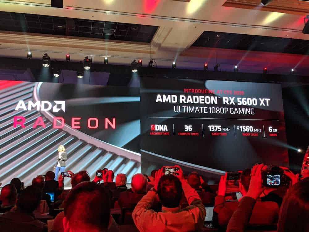 AMD CES 2020 Keynote GPU Gaming 7