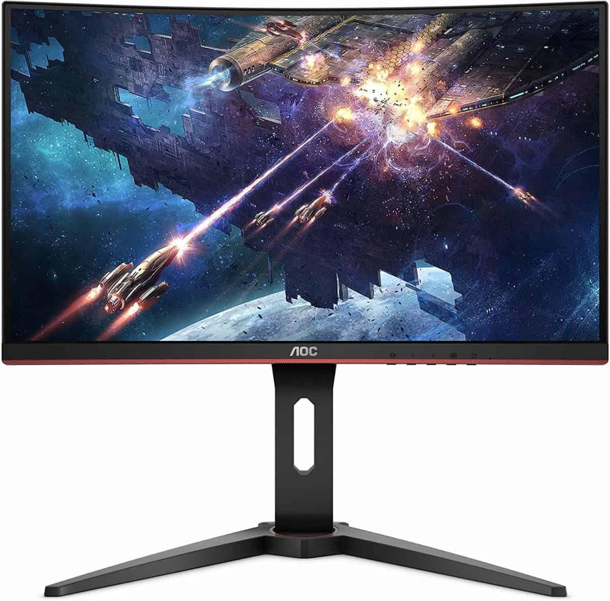 AOC C24G1 24″ Curved Frameless Gaming Monitor