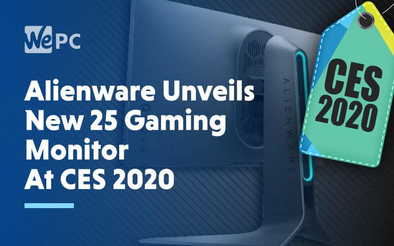Alienware Unveils New 25 Gaming Monitor