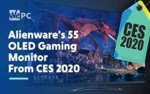 Alienwares 55 OLED Gaming Monitor From CES 2020