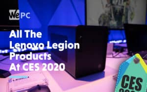 All The Lenovo Legion Products At CES 2020