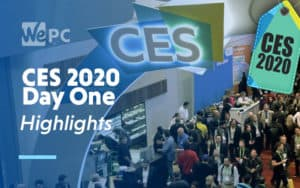 CES 2020 day one