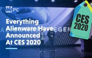 Everything Alienware Have Announced At CES 2020