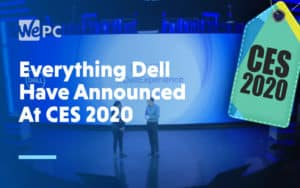 Everything Dell Have Announced At CES 2020