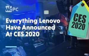 Everything Lenovo Have Announced At CES 2020