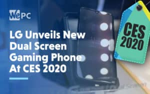 LG Unveils New Dual Screen Gaming Phone At CES 2020