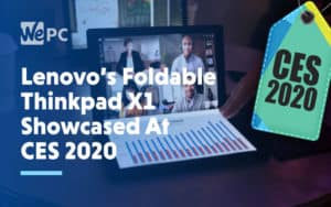 Lenovos Foldable Thinkpad X1 Showcased At CES 2020