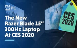 The New Razer Blade 300 Hz Laptop